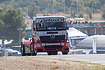 Hungarian driver Norbert Kiss belonging German team Tankpool 24 Racing- uring the super pole SP1 of the XXX Spain GP Camion of the FIA European Truck Racing Championship 2016 in Madrid. October 01, 2016. (ALTERPHOTOS/Rodrigo Jimenez)