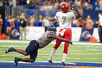 SAN ANTONIO, TX - OCTOBER 2, 2021: The University of Texas at San Antonio Roadrunners defeat the University of Nevada Las Vegas Rebels 24-17 at the Alamodome (Photo by Jeff Huehn).