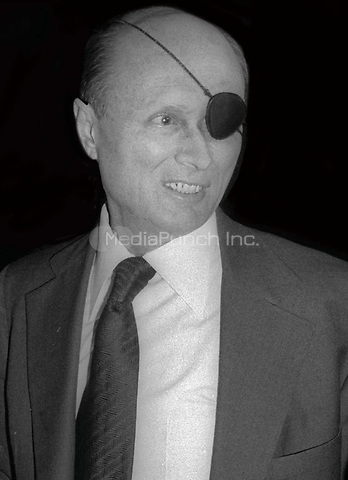 Moshe Dayan 1978<br /> Photo By Adam Scull/PHOTOlink /MediaPunch