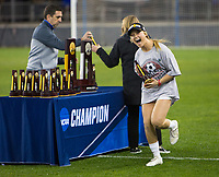 Stanford, CA - December 8, 2019: Civana Kuhlmann at Avaya Stadium. The Stanford Cardinal won their 3rd National Championship, defeating the UNC Tar Heels 5-4 in PKs after the teams drew at 0-0.