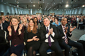 Yvette Cooper MP, Ed Balls MP, Chuka Umunna MP.  Labour Party Special Conference on reform of its links to trade unions, ExCel Centre, London.