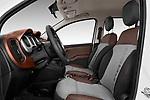 Front seat view of 2017 Fiat Panda Cross 5 Door SUV Front Seat  car photos