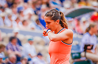 Paris, France, 28 May, 2018, Tennis, French Open, Roland Garros, Andrea Petkovic (GER)<br /> Photo: Henk Koster/tennisimages.com