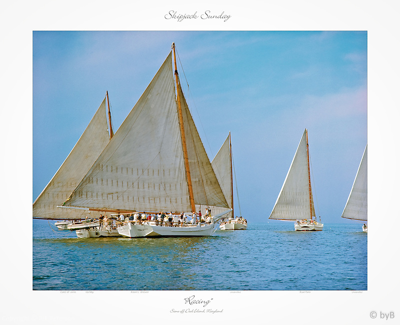 """Special Gallery edition of this Fine Art Limited Edition Skipjack print from the ~ """"Skipjack Sunday"""" collection.<br /> http://skipjacksunday.com"""