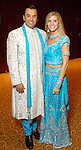 Dr. Devinder Bhatia and his wife Gina at the Indian Film Festival Celebrity Gala at the InterContinental Hotel Saturday evening Sept. 26,2009. (Dave Rossman/For the Chronicle)