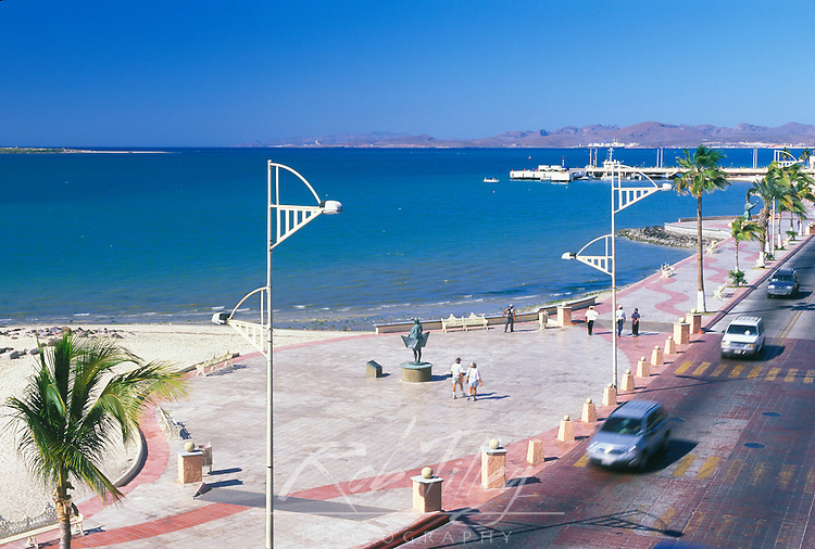 Mexico, Baja California Sur, La Paz, Malecon