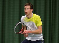 March 15, 2015, Netherlands, Rotterdam, TC Victoria, NOJK, Maikel Borg (NED)<br /> Photo: Tennisimages/Henk Koster