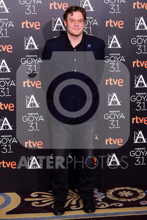 Alvaro Longoria attends to the 2017 Goya Awards Candidates Cocktail at Ritz Hotel in Madrid, Spain. January 12, 2017. (ALTERPHOTOS/BorjaB.Hojas)