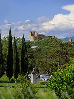 Festung Bebris Ziche in Mzcheta, Georgien, Europa<br /> Fortress Bebris Ziche, Mzcheta,  Georgia, Europe,