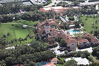 PALM BEACH, FL - MARCH 1: Aerial View of Mar-A-Lago Club in Palm Beach, Florida on March 1, 2021. Credit: mpi34/MediaPunch