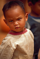 Child in northern Thailand