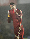 Spain's Sergio Ramos during international friendly match.November 18,2014. (ALTERPHOTOS/Acero)