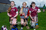 Causeway Camogie Club players returning to training in Causeway on Monday night. L to r: Emma Dillane, Leona Walsh and Katie Stack.