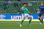 19.09.2020, wohninvest Weserstadion, Bremen, GER,  SV Werder Bremen vs Hertha BSC Berlin, <br /> <br /> <br />  im Bild<br /> <br /> Yuya Osako (Werder Bremen #08)<br /> Einzelaktion, Ganzkörper / Ganzkoerper <br /> Querformat<br /> <br /> Foto © nordphoto / Kokenge<br /> <br /> DFL regulations prohibit any use of photographs as image sequences and/or quasi-video.