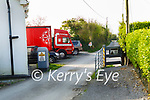 Arctic truck blocking neighbours of Martin Moore in Bawnboy, Tralee