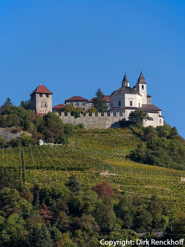 Kloster Säben in Klausen, Region Südtirol-Bozen, Italien, Europa<br /> Säben monastery in Klausen, Region South Tyrol-Bolzano, Italy, Europe