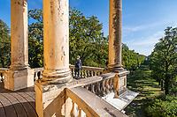 Aussichtsterrasse auf dem Belvedere auf dem Klausberg, Potsdam, Brandenburg, Deutschland
