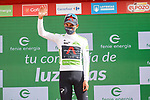 Egan Bernal (COL) Ineos Grenadiers retains the young riders White Jersey at the end of Stage 11 of La Vuelta d'Espana 2021, running 133.6km from Antequera to Valdepeñas de Jaén, Spain. 25th August 2021.     <br /> Picture: Luis Angel Gomez/Photogomezsport | Cyclefile<br /> <br /> All photos usage must carry mandatory copyright credit (© Cyclefile | Luis Angel Gomez/Photogomezsport)