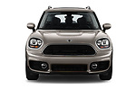 Car photography straight front view of a 2020 MINI Countryman Cooper-Signature 5 Door Hatchback Front View