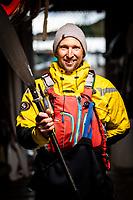 Portrait of Markus Holgersson, owner of a kayaking centre - SKÄRGÅRDSIDYLLEN, Grönemad, Grebbestad, West Sweden.