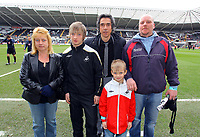 ATTENTION SPORTS PICTURE DESK<br /> Pictured:<br /> Re: Coca Cola Championship, Swansea City Football Club v Sheffield Wednesday at the Liberty Stadium, Swansea, south Wales. Saturday 13 Marchy 2010