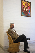 Deepak Kapur, chairman of the Rotary International's India National PolioPlus Committee poses for a portrait in his office in New Delhi, India.