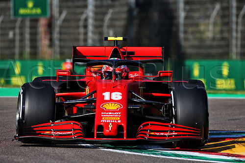 31st October 2020, Imola, Italy; FIA Formula 1 Grand Prix Emilia Romagna, Qualifying;  16 Charles Leclerc MCO, Scuderia Ferrari Mission Winnow