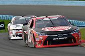 #20: Christopher Bell, Joe Gibbs Racing, Toyota Camry Rheem, #51: Jeremy Clements, Jeremy Clements Racing, Chevrolet Camaro RepairableVehicles.com