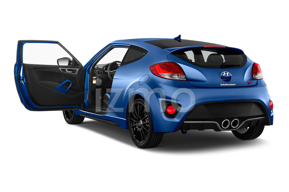 Car images of 2016 Hyundai Veloster 1.6 Turbo Rally Edition Manual 4 Door Hatchback Doors
