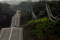 Transamazônica próximo a Marabá..16/08/2009Foto Paulo SantosSão Domingos do Araguaia, Pará, Brasil