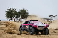 31st December 2020, Jeddah, Saudi Arabian. The vehicle and river shakedown for the 2021 Dakar Rally in Jeddah;   336 Strugo Jean-Pierre fra, Borsotto Francois fra, Peugeot, PH Auto, action during the shakedown of the Dakar 2021 in Jeddah