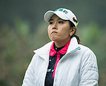 Lin Tzu-Chi of Chinese Taipei tees off at the 13th hole during Round 3 of the World Ladies Championship 2016 on 12 March 2016 at Mission Hills Olazabal Golf Course in Dongguan, China. Photo by Victor Fraile / Power Sport Images