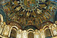 Ravenna: The Ortodox Baptistery, interior, 5th century.