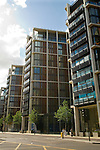 One Hyde Park Knightsbridge London. A Candy Brothers apartment block of flats over looking Hyde Park. 2011, 2010s UK