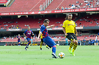 São Paulo (SP), 15/12/2019 - Futebol-Legendscup - Giully do Barcelona. Partida entre as lendas de Barcelona e Borussia Dortmund no estádio do Morumbi, em São Paulo (SP), domingo (15).