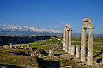 Hierapolis, one of the many ancient sites on Stage 6, ahead of the 2015 Presidential Tour of Turkey. 26th April 2015.<br /> Photo: Tour of Turkey/Steve Thomas/www.newsfile.ie