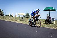 Yves Lampaert (BEL/Deceuninck-Quick Step)<br /> <br /> Stage 13: ITT - Pau to Pau (27.2km)<br /> 106th Tour de France 2019 (2.UWT)<br /> <br /> ©kramon