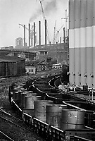 - Genova, l'acciaieria Italsider di Cornigliano nel maggio 1978, prenderà la denominazione di ILVA nel 1988 quando Italsider e Finsider saranno messe in liquidazione e scompariranno<br />
