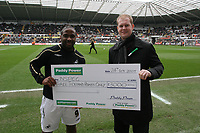 Pictured: Jason Scotland (left) of Swansea City<br /> Re: Coca Cola Championship, Swansea City FC v Charlton Athletic at the Liberty Stadium, Swansea, south Wales. 28 February 2009<br /> Picture by D Legakis Photography / Athena Picture Agency, Swansea 07815441513