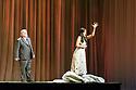 "English National Opera presents Giuseppe Verdi's ""La Traviata"", at the London Coliseum. Directed by ENO's new artistic director, Daniel Kramer. Picture shows: Alan Opie (Giorgio Germont), Claudia Boyle (Violetta Valery)."