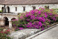 Antigua, Guatemala.  Capuchinas Convent, Built 1736.