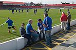 The Fleet Football stadium. Ebbsfleet Ebbsfleet Valley Kent Uk. 2014