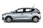 Driver side profile view of a 2021 Dacia Sandero Comfort 5 Door Hatchback