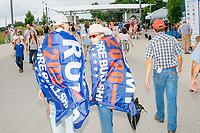 Donald Trump Supporters - Iowa State Fair - Des Moines, Iowa - 11 Aug 2019