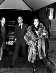 SABINA CIUFFINI E PHILIPPE LEROY<br /> SERATA JACKIE O' ROMA 1977