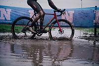Laurens Sweeck (BEL/Pauwels Sauzen-Bingoal)<br /> <br /> UCI cyclo-cross World Cup Dendermonde 2020 (BEL)<br /> <br /> ©kramon