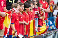 Spain's supporters during match between Spain and Italy to clasification to World Cup 2018 at Santiago Bernabeu Stadium in Madrid, Spain September 02, 2017. (ALTERPHOTOS/Borja B.Hojas)