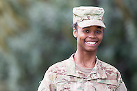 WOMAN MODEL RELEASED ARMY MULTICAM