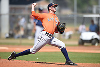 Houston Astros minor league pitcher Mark Appel (26) delivers a pitch during a spring training game against the Detroit Tigers on March 21, 2014 at Osceola County Stadium Complex in Kissimmee, Florida.  (Mike Janes/Four Seam Images)