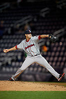 Pawtucket Red Sox relief pitcher Chandler Shepherd (30) during a game against the Scranton/Wilkes-Barre RailRiders on May 15, 2017 at PNC Field in Moosic, Pennsylvania.  Scranton defeated Pawtucket 8-4.  (Mike Janes/Four Seam Images)